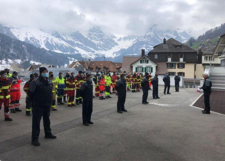 Neue Offiziere für die Ob- und Nidwaldner Feuerwehren